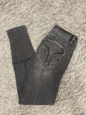 Miss Sixty Jeans carotte gris foncé-gris