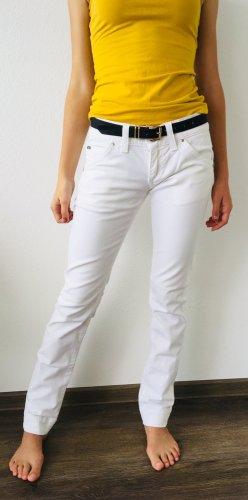 Miss Sixty Jeans cigarette blanc