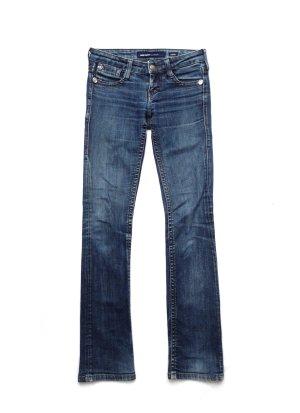 MISS SIXTY Jeans Hose Denim blue stone washed XS – 2er SET
