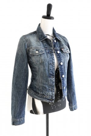MISS SIXTY Jeans Jacket Jacke Denim blue stone washed – XS