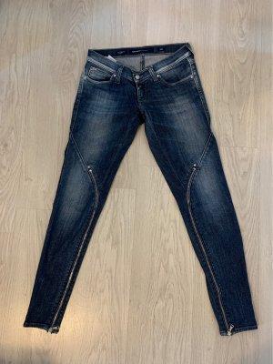Miss Sixty Jeans cigarette bleu-bleu foncé