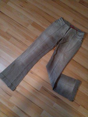 Miss Sixty Boot Cut Jeans beige