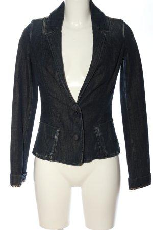Miss Sixty Blazer en jean noir style décontracté