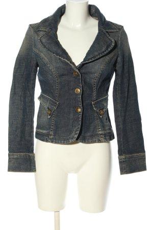 Miss Sixty Jeansblazer hellgrau Casual-Look