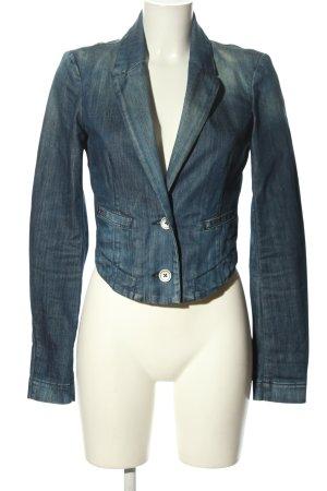 Miss Sixty Jeansblazer blau Casual-Look