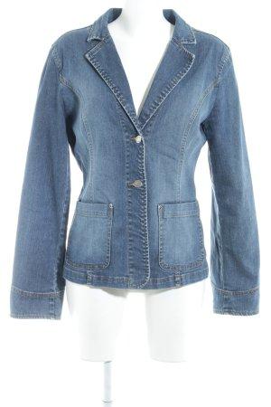 Miss Sixty Jeansblazer stahlblau Street-Fashion-Look