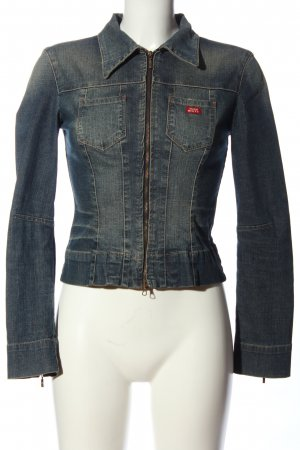 Miss Sixty Jeansjacke blau Street-Fashion-Look