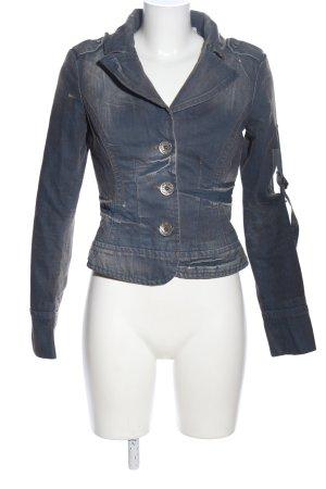 Miss Sixty Jeansjacke blau Casual-Look