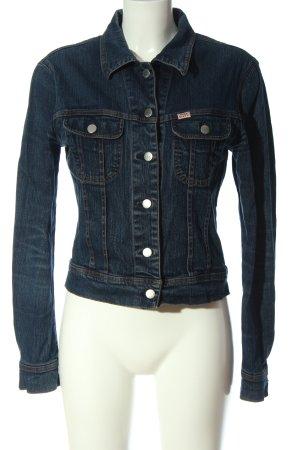 Miss Sixty Jeansowa kurtka niebieski W stylu casual