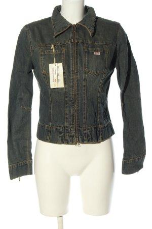 Miss Sixty Veste en jean gris clair style décontracté