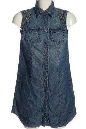 Miss Sixty Robe en jean bleu style décontracté