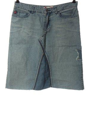 Miss Sixty Jeansowa spódnica niebieski W stylu casual