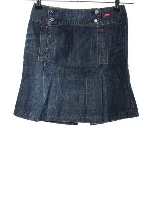 Miss Sixty Jeansrock blau Casual-Look