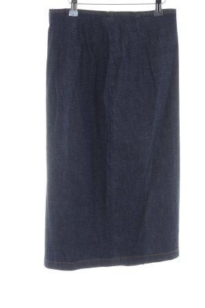 Miss Sixty Spijkerrok blauw gestippeld casual uitstraling