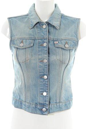 Miss Sixty Jeansweste blau Casual-Look