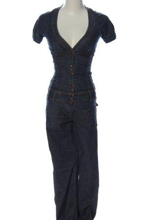 Miss Sixty Jumpsuit blau Casual-Look