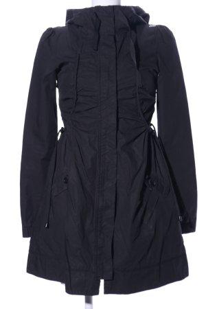 Miss Sixty Abrigo con capucha negro look casual