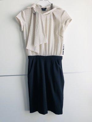 Miss Sixty Ołówkowa sukienka czarny-biały
