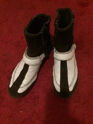 Miss Sixty High top sneaker zwart-wit