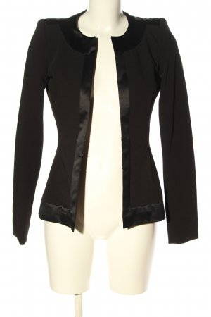 Miss Sixty Kurz-Blazer schwarz Business-Look