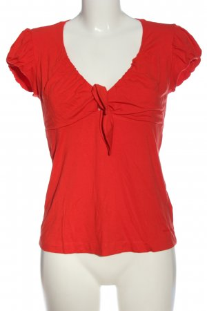 Miss Sixty Kurzarm-Bluse rot Casual-Look