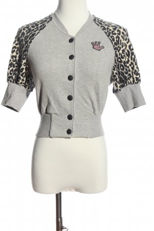Miss Sixty Kurzarmpullover Leomuster Casual-Look