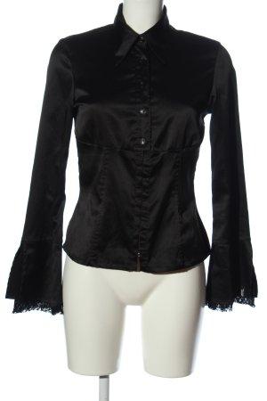 Miss Sixty Camisa de manga larga negro elegante