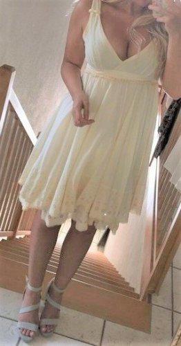 Miss Sixty Summer Dress natural white-cream