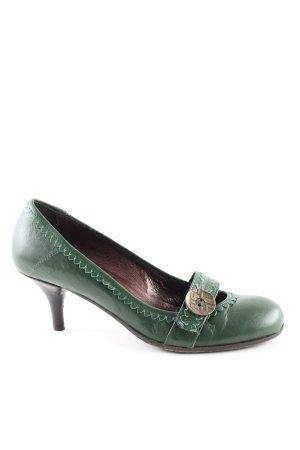 Miss Sixty Mary Jane Pumps grün klassischer Stil
