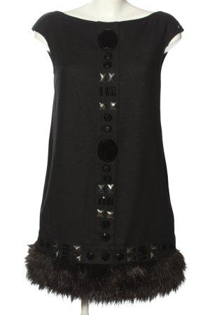 Miss Sixty Wollkleid schwarz Elegant