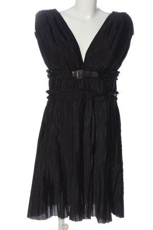 Miss Sixty Minikleid schwarz Elegant