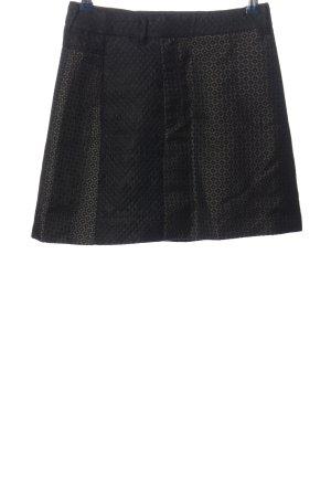 Miss Sixty Miniskirt black-light grey allover print casual look