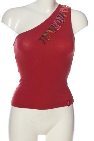 Miss Sixty Haut avec une épaule dénudée rouge élégant
