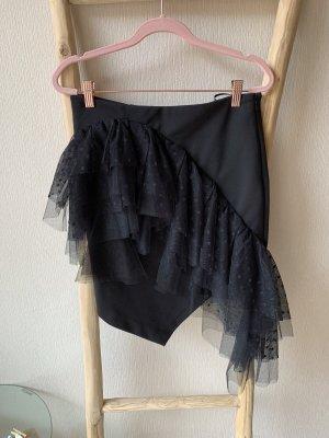 Miss Sixty Tiulowa spódnica czarny