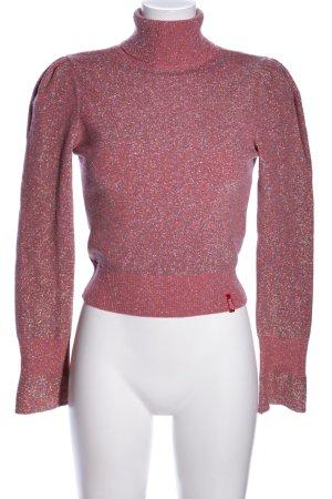 Miss Sixty Rollkragenpullover pink meliert Elegant