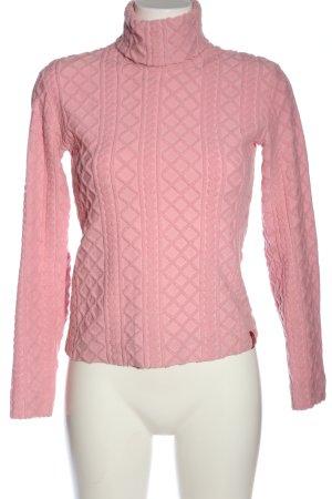 Miss Sixty Rollkragenpullover pink Casual-Look