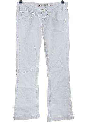 Miss Sixty Pantalon pattes d'éléphant gris clair style décontracté