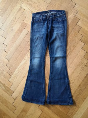 Miss Sixty Denim Flares dark blue cotton
