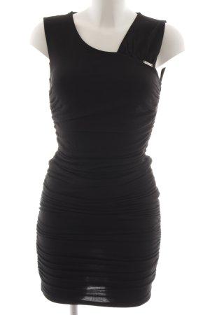 Miss Sixty Vestido de tubo negro elegante