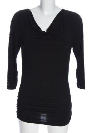 Miss Sixty Blouse à enfiler noir style décontracté