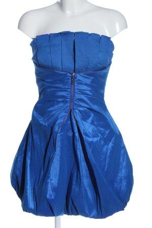Miss Sixty Robe épaules nues bleu élégant