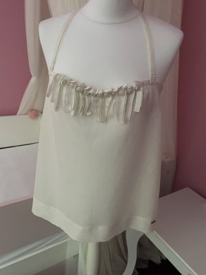 Miss Sixty Camisa tipo túnica blanco puro-crema