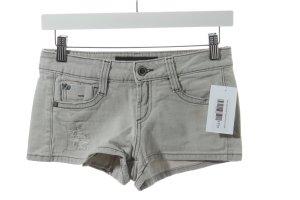 Miss Sixty Shorts hellgrau Destroy-Optik