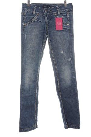 Miss Sixty Jeansy o obcisłym kroju niebieski W stylu casual