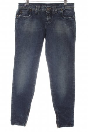 Miss Sixty Skinny Jeans dunkelblau Casual-Look