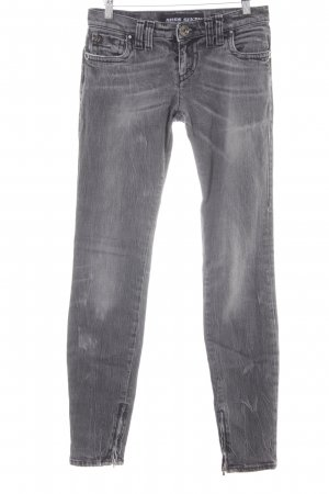 Miss Sixty Skinny Jeans grau Washed-Optik