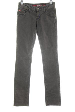 Miss Sixty Skinny Jeans graubraun Casual-Look