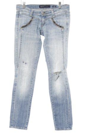Miss Sixty Skinny Jeans himmelblau Casual-Look