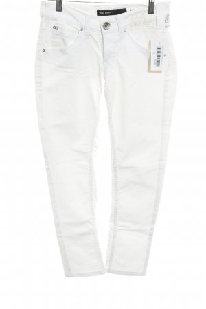 Miss Sixty Skinny Jeans weiß Casual-Look