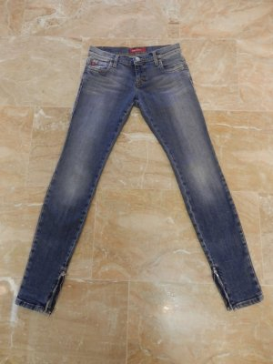 Miss Sixty Skinny Röhre Jeans Fashion Blogger Slim Fit Röhrenjeans Low Waist